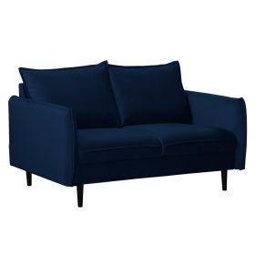 RUGG Sofa granatowa 149x86x91 cm