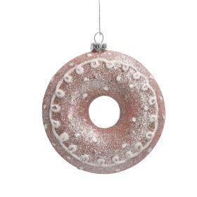 EVI Zawieszka dounat różowy 10 cm