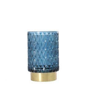 GELO Lampion granatowy 9x15 cm