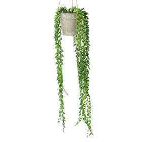 SENCIO Sztuczna roślina 10x10x54 cm