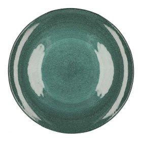 TUNJA Talerz zielony XL 33 cm