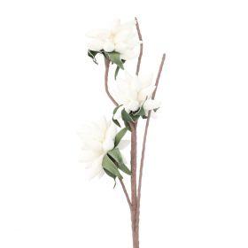 VIOLA Kwiat sztuczny ecru 93 cm