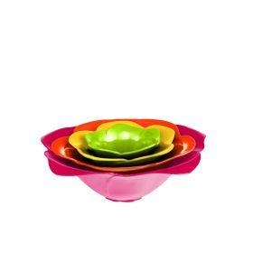 ZAK!DESIGNS Zestaw 4-ech miseczek mini hot pop ROSE 70-280 ml