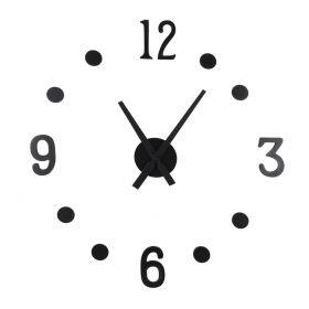 LIM Zegar ścienny czarny 40 cm