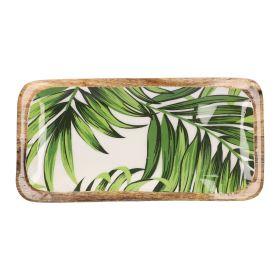 TALAI Taca z motywem tropikalnym 30x2 cm