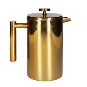 BLANCHE Zaparzacz do kawy i herbaty złoty 1 l