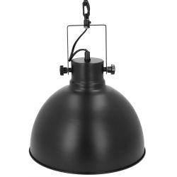 BASALT Lampa sufitowa czarna 30 cm