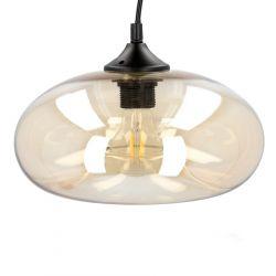 KALTA Lampa sufitowa złota 28x28 cm
