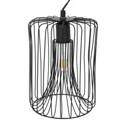 EGIO Lampa sufitowa czarna 20 cm