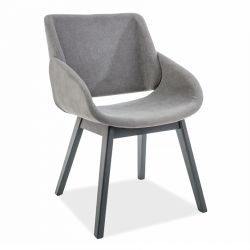 NAOS EC Krzesło szare 82x52x45 cm