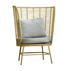 MARINA Fotel ogrodowy 87x76x113 cm