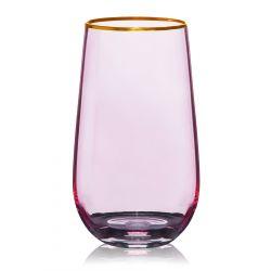 FELICE Szklanka różowa 0,55 l