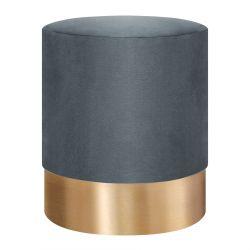 FICA Puf szaro-złoty 35x42 cm