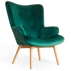 MOSS Fotel zielony 72x96 cm