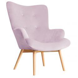 MOSS Fotel różowy 72x96 cm