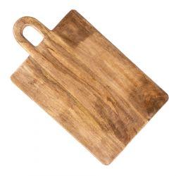VENJA Deska z drewna mango z uchwytem 50x31 cm