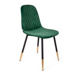 NOIR Krzesło zielone 44x52x85cm