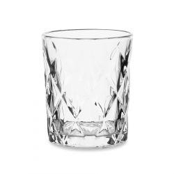 LUNNA Szklanka transparentna 4 szt. 0,3 l