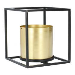 ROH Donica złota 16x16x18 cm