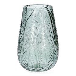 ROSAS Wazon szklany zielony 16x26 cm