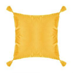 LIRA Poszewka z frędzlami żółta 45x45 cm