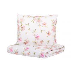 FLOREMI Komplet pościeli bawełnianej w magnolie 200x220 cm