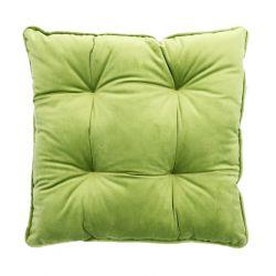 PIA Poduszka na krzesło pikowana zielona 40x40 cm
