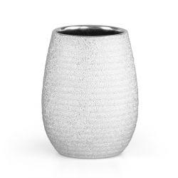 NOELLE Kubek łazienkowy ze strukturą srebrny 0.38 l