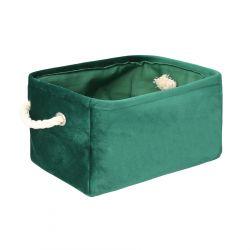AXEL Kosz do przechowywania zielony 33x23x17 cm