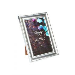 LENS Ramka na zdjęcie srebrna 10x15 cm