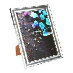 LENS Ramka na zdjęcie srebrna 15x20 cm