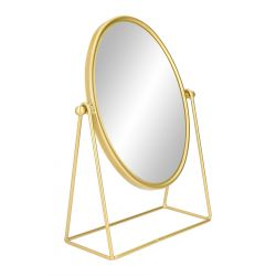 SIVA Lusterko stojące złote 32 cm