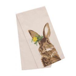 PASKE Ścierka kuchenna z motywem królika 50x70 cm