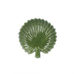 SAGE Mini taca liśc palmy 13x13 cm