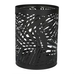 SAGE Lampion ażurowy czarny 11x15 cm