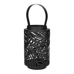 SAGE Lampion ażurowy czarny 11x18 cm