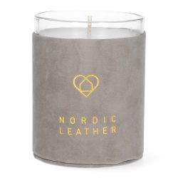 ETERNAL Świeca zapachowa Nordic Leather 8x10 cm