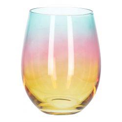 RAINBOW Szklanka wielokolorowa 0,5 l