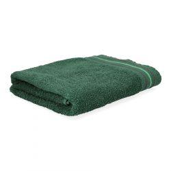 OCTOPUS Ręcznik bawełniany z lamówką ciemnozielony 70x130 cm