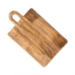 VENJA MANGO Deska z drewna mango z uchwytem 33x20 cm