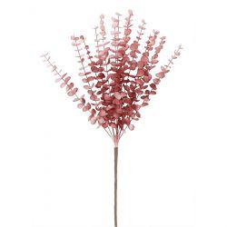 EUCALYPTUS Roślina sztuczna różowa 80 cm