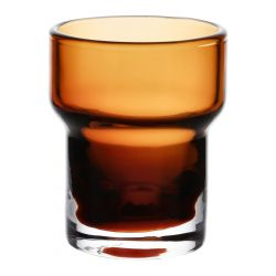 RISA Szklanka niska karmelowa 0,3 l