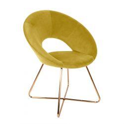 JARED Krzesło oliwkowe 73x47x84 cm