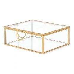 GRAZIA Szkatułka złota 13x11x5 cm