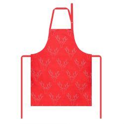 ANDRE Fartuch kuchenny czerwony 60x80 cm