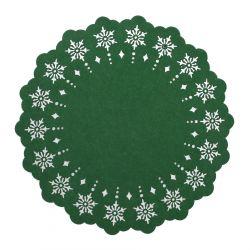 LEIS Podkładka filcowa zielona 38 cm