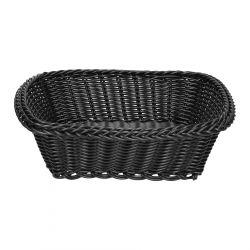 MAURI Koszyk kwadratowy czarny 22x22 cm