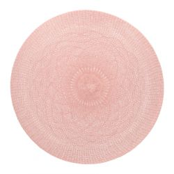 VENLA Podkładka do jadalni różowa 38 cm