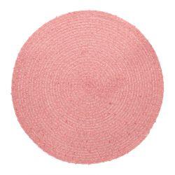 FRIDA Podkładka do jadalni różowa 38 cm