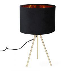 LOVA Lampa stołowa czarna 24x42 cm